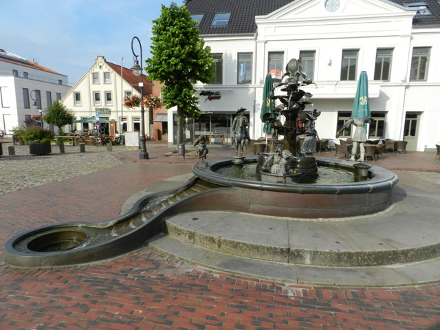 Jever Germany  City pictures : SAGENBRUNNEN