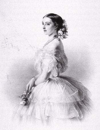 HIH Grand Duchess Olga Feodorovna of Russia n�e Grand-Ducal Princess and Margravine C�cilie of Baden