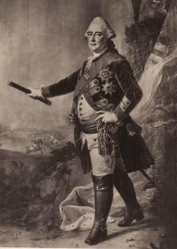 HSH Landgrave Friedrich II of Hesse-Cassel