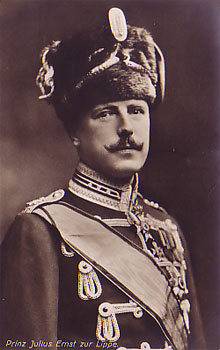 HSH Prince Julius Ernst of Lippe