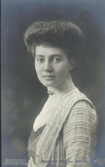 HRH Margravine Marie Louise of Baden née Princess of Hanover